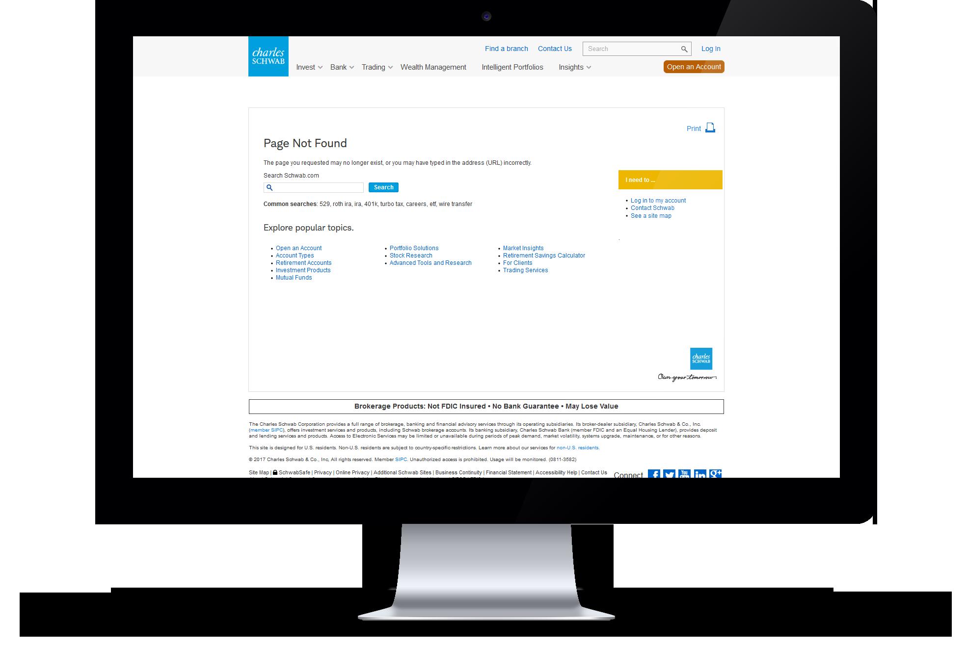 404 Error Page Design Showcase | MJS Web Solutions