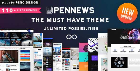 PenNews - News & Magazine AMP WordPress Theme